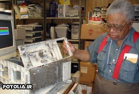 کثیف ترین کامپیوترهای جهان [عکس]