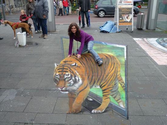 نمونه های هنرهای خیابانی