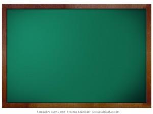 green-blank-blackboard