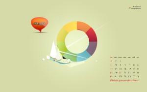 تقویم های شهریور ماه 1391