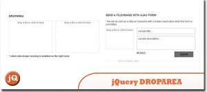jQuery-DROPAREA