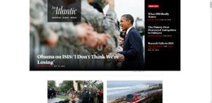 سایت مجله theAtlantic