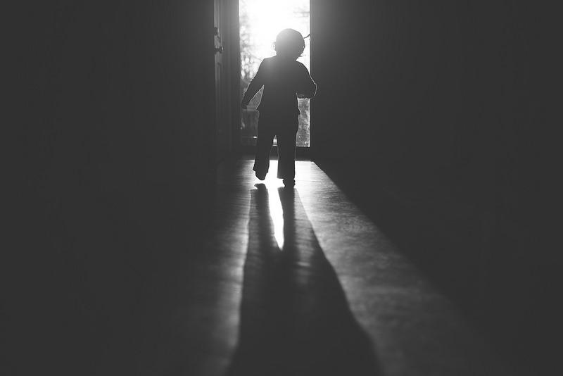 baby in sunlight
