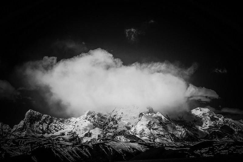 cloud above mountain