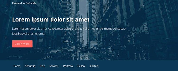 wordpress free theme primer business clean spacious