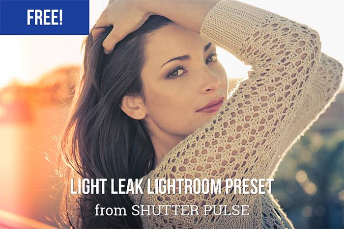 Light Leak Lightroom Preset