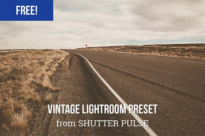 Vintage Lightroom Preset