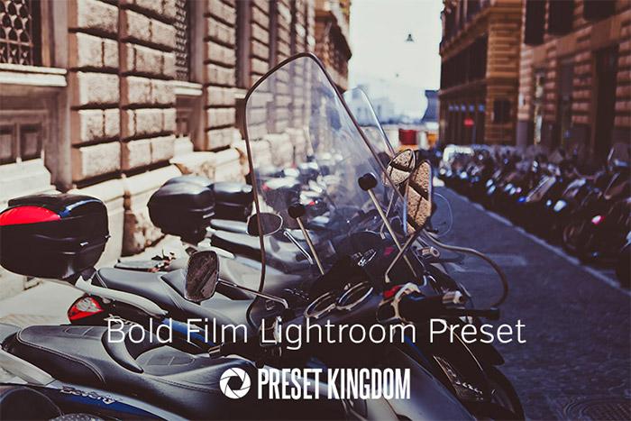 Bold Film Lightroom Preset