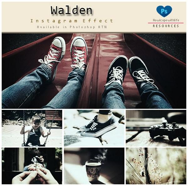 Walden Instagram Effects