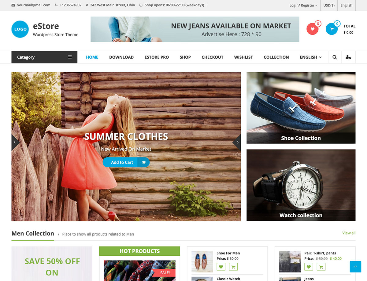 estore-woocommerce-wordpress-theme