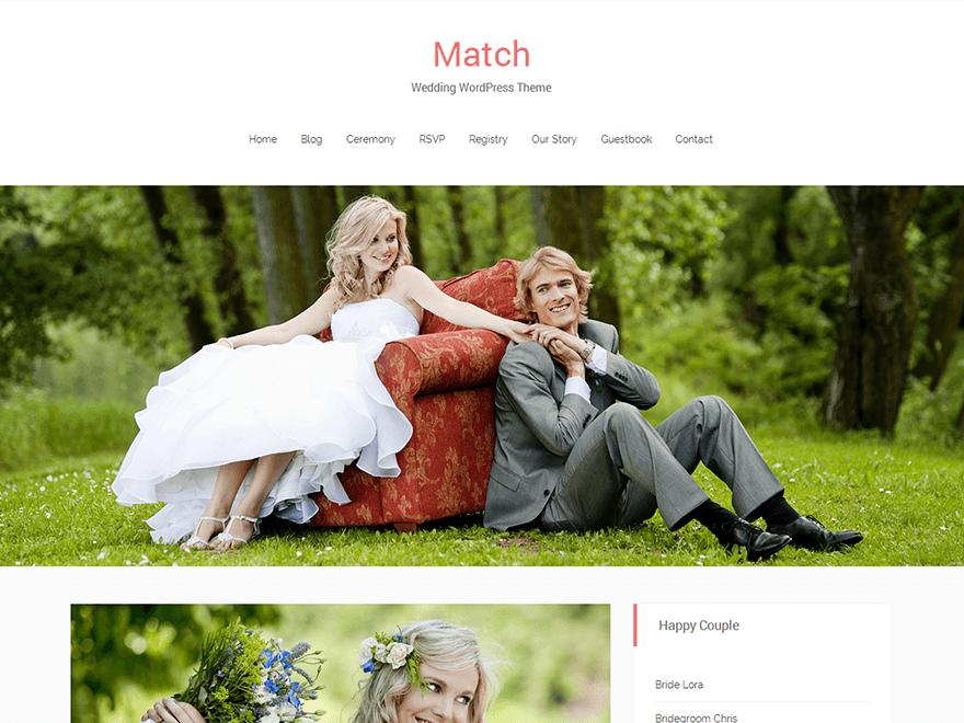 match wedding wordpress theme (1)