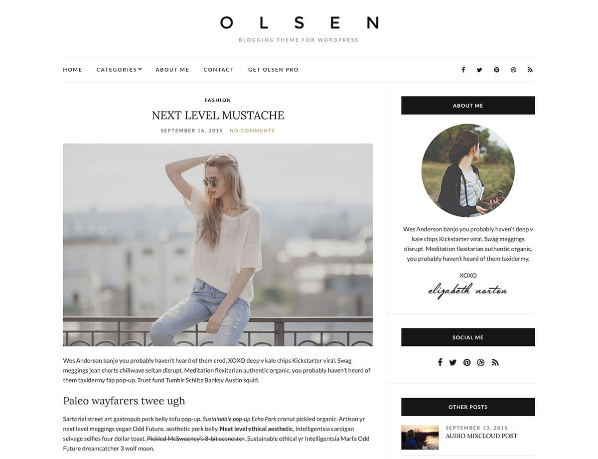 olsen-light-wordpress-theme