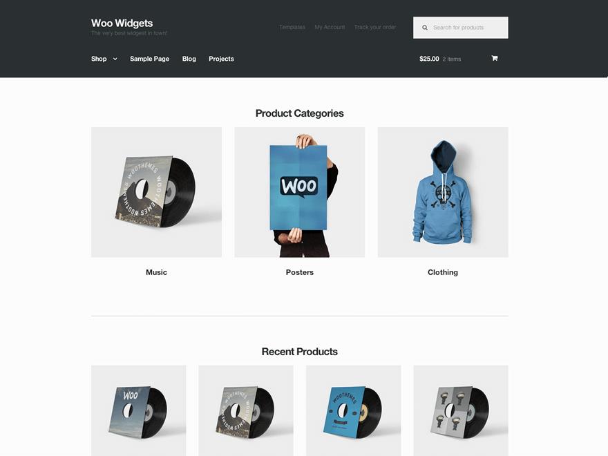 storefront woocommerce theme