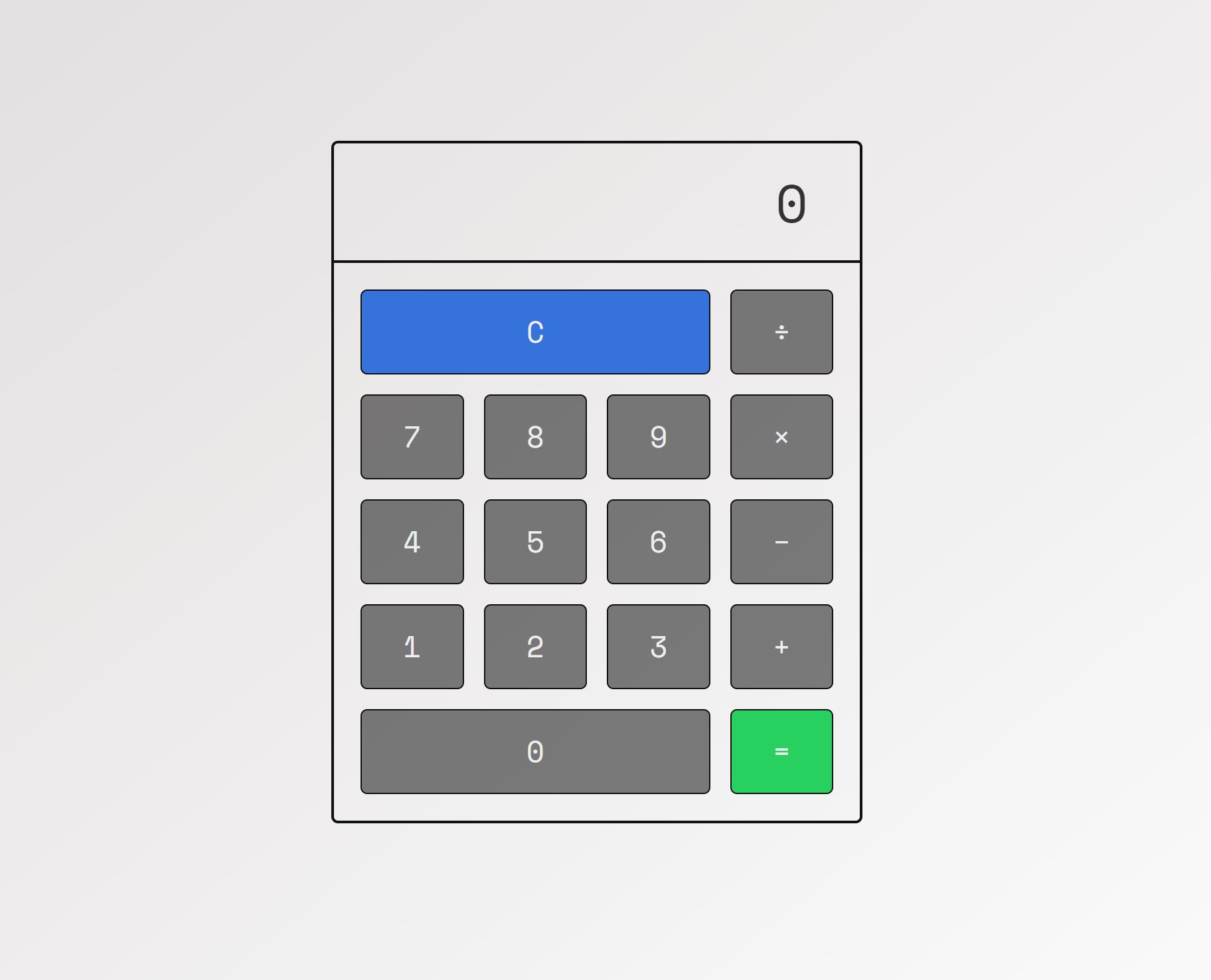 آموزش طراحی ماشین حساب با CSS Grid
